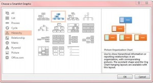 Een organisatie diagram