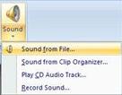 Gebruik van geluid en muziek