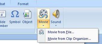 Gebruik video in PowerPoint